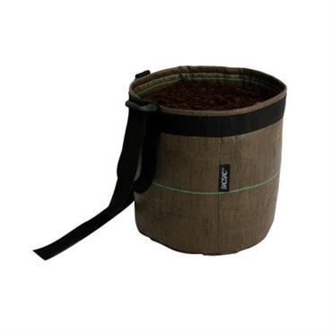 Pot suspendu Suspendu Geotextile / 3 L - Outdoor - Bacsac marron