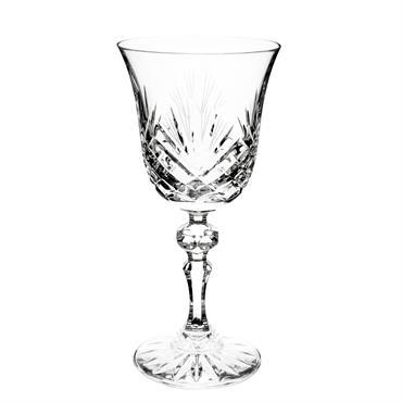Verre à vin en cristal LOSANGE