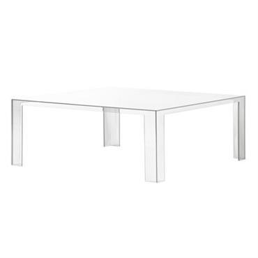 Table basse Kartell design Cristal en Matière plastique. Dimensions : L 100 cm x l 100 cm x H 31 cm. En 2010, le designer japonais Tokujin Yoshioka avait fait ...