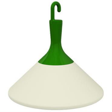 Lampe de sol Zelight à poser ou suspendre - Driade blanc