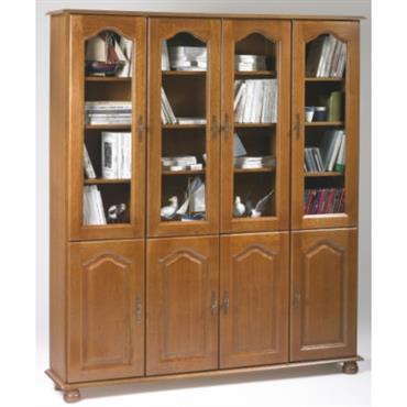 Bibliothèque Cluzel 8 portes