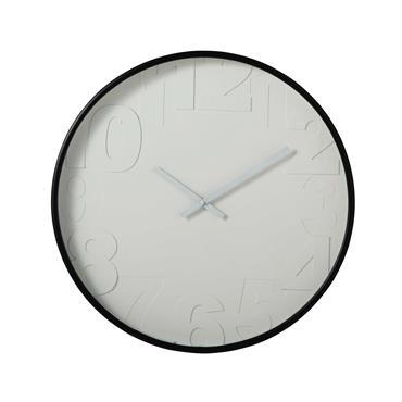 Horloge en plastique blanche D 53 cm SIMPLICITY