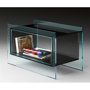Table basse Magique Side / 70 x 38 cm - FIAM transparent