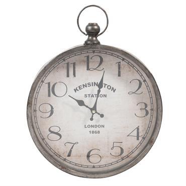 Tic, tac, tic, tac... Faites un saut dans le temps avec l' horloge gousset en métal 30x39 PARKER . Avec ses allures d'horloge ancienne et un brin factory, elle attirera ...