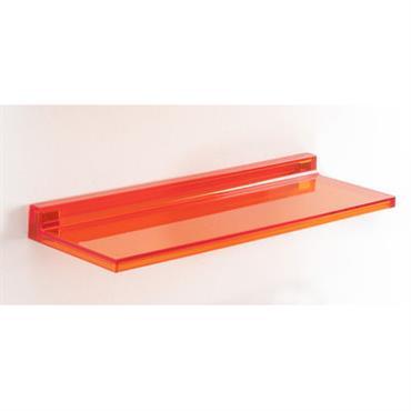 Etagère Shelfish / L 45 cm - Kartell orange tangerine en matière plastique