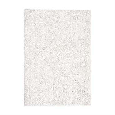 Tapis à poils longs écru 200 x 300 cm