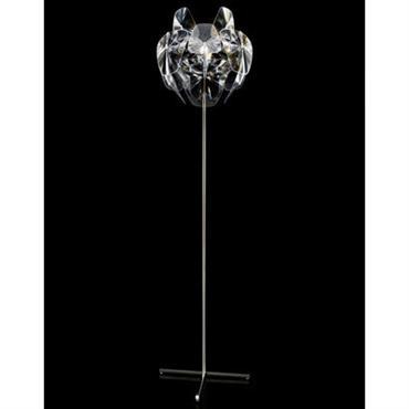 Lampadaire Hope / pied simple - H 184 cm - Luceplan transparent