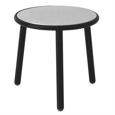 Table basse Yard / Ø 50 cm - Emu noir