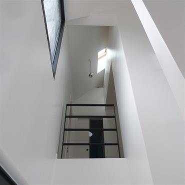 Triple hauteur Une belle perspective intérieure sur ce visuel