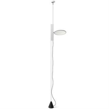 Lampe OK à suspendre au plafond / LED - Flos Blanc en Métal
