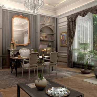 Bureau au palais