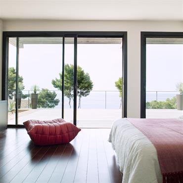 Chambre d'exception et terrasse ensoleillée