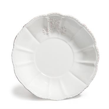 Pour servir vos délicieuses soupes, optez pour cette assiette creuse de la collection BOURGEOISIE (vendue par 6). Cette assiette en faïence conviendra également pour la présentation de vos plats de ...
