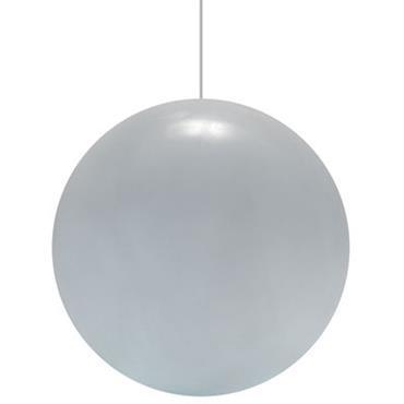 Suspension Globo Ø 50 cm - Slide blanc en matière plastique