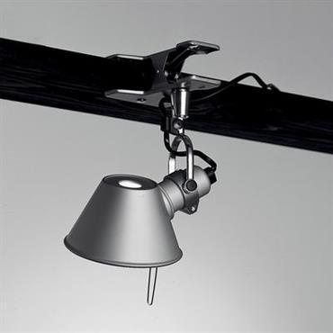 Lampe à pincer Tolomeo Micro Pinza LED - Artemide Métal brillant en Métal