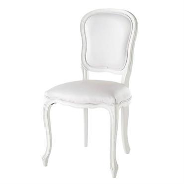 Chaise blanche Versailles