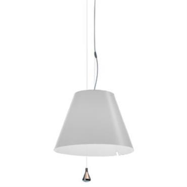 Suspension Costanza Ø 40 cm - Luceplan blanc en matière plastique