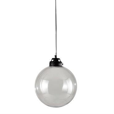 Suspension en verre transparente D 31 cm BELLANGER