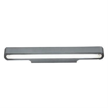 Applique Talo / Version fluorescente - L 90 cm - Artemide argent
