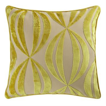 Coussin jaune 45 x 45 cm HYPNOSIS