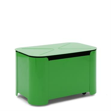 Coffre à jouets tortue vert