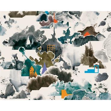 Papier peint panoramique WallpaperLab Fog / 8 lés - L 372