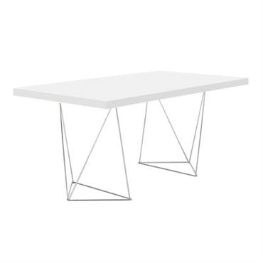 Table Trestle / L 180 cm - POP UP HOME blanc