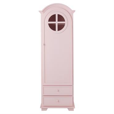 Sobre et classique, cette armoire en bois conserve la charme des bonnetières d'autrefois. Dotée d'une porte avec une petite fenêtre en œil de bœuf, ce meuble de rangement vous offre ...