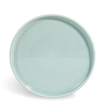 Assiette à dessert en faïence bleue D 21 cm HELSINKI
