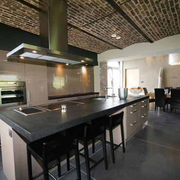 Impressionnant Idee Deco Cuisine Ouverte #5: 894572-cuisine-moderne-cuisine-americaine-ouverte-sur.jpg