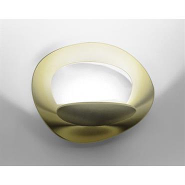 Applique Pirce Micro LED / L 22 cm - Artemide Or en Métal