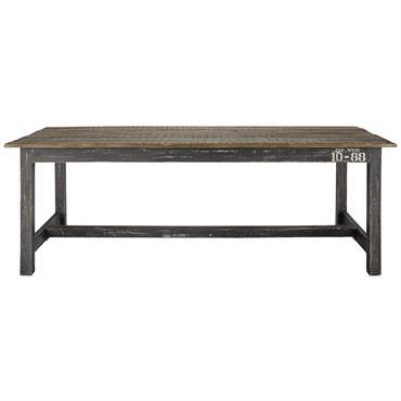 Travaillée avec une finition très vieillie, cette table à manger en bois de manguier SAILOR créera une ambiance authentique et chaleureuse dans votre pièce de vie. Surmontée d'un vaste plateau ...