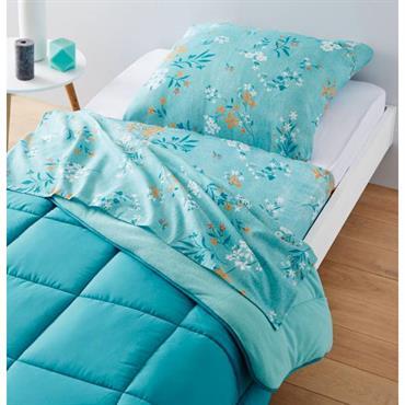 A la fois drap de dessous, drap et taie d´oreiller en une seule et même pièce, le nightbag se place astucieusement entre le matelas et couette et permet de dormir ...