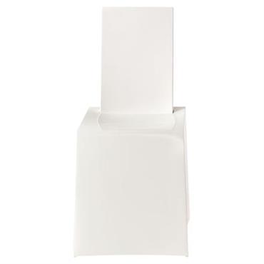 Chaise Miss Less / Plastique - Kartell blanc en matière plastique
