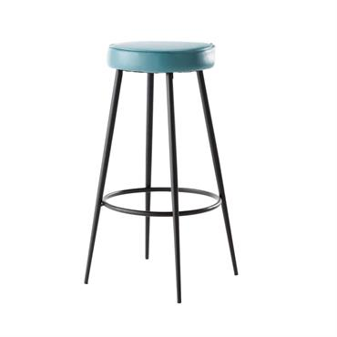 Tabouret de bar bleu Caps