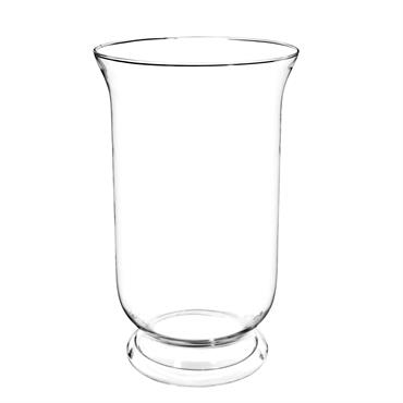 Photophore en verre H 30 cm