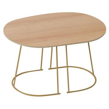 Table basse Airy / Small - 68 x 44 cm - Muuto Or
