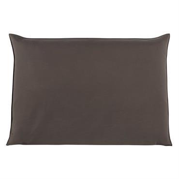 Housse de tête de lit 160 taupe Soft