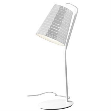 Lampe de table Artemide Design Blanc Métal H 45,5 cm - Abat-jour : Ø 21 cm - Base : Ø 15 cm Cette lampe de table se distingue par son ...