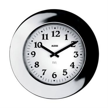 Horloge murale Momento - Alessi blanc