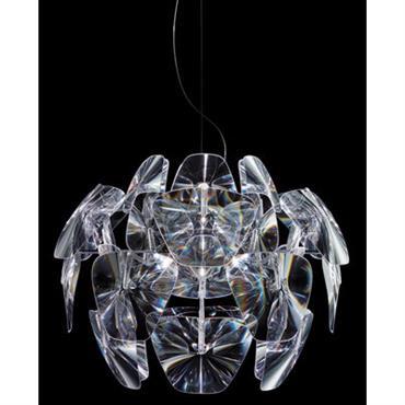 Suspension Hope Ø 72 cm - Luceplan Transparent en Matière plastique