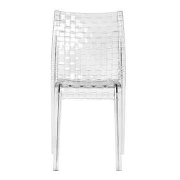 Chaise empilable Ami Ami / Polycarbonate transparent - Kartell cristal en matière plastique
