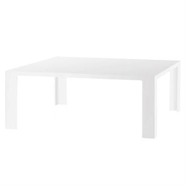 Table basse Invisible Low / 100 x 100 x H 31 cm