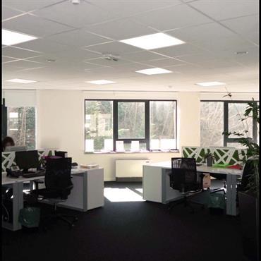 Aménagement bureaux en open space  sur 500 mètres carres