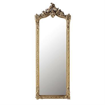 Miroir en sapin doré 64x168