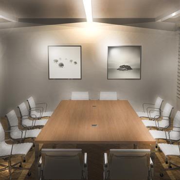 Salle de réunion d'un cabinet d'avocat-