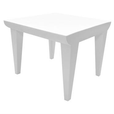Table basse Bubble Club / 51 x 51 cm - Kartell blanc