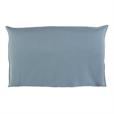 Housse de tête de lit 180 bleue Soft