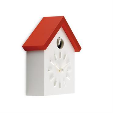 Horloge murale Cu-Clock à coucou - Magis orange en matière plastique