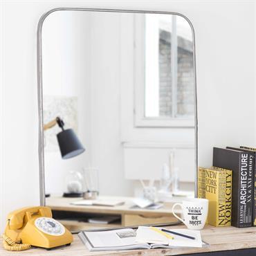 Miroir en métal H 85 cm PARKER